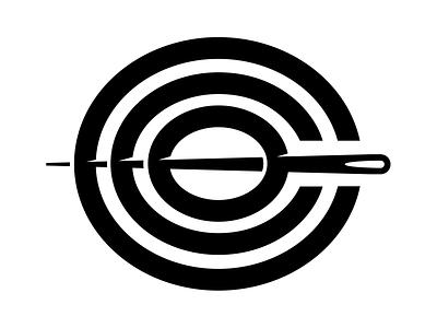 Camp Collins Outdoor illustration logo needle camping outdoors reuse repurpose camp colorado