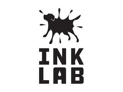 Ink Lab retriever digital printing ink labrador logo