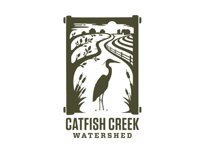 Catfish Creek Watershed urban planning farming nature dubuque iowa watershed water environmental logo