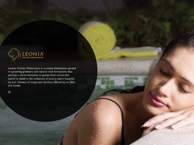 website pitch for leonia group of hotels