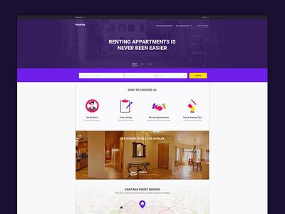 Housing.com home screen redesign