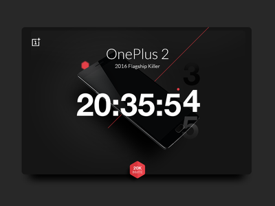 Daily UI #014 - Countdown Timer #dailyui #014 mockup mobile illustration app web oneplus ux ui dailyui design timer countdown