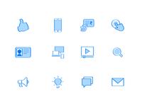 Dropbox vector Icons