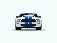 Ford Mustang vector illustration
