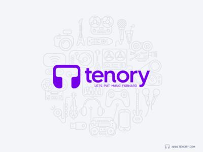 Tenory Poster Illustration