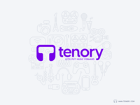 Tenory Poster Illustration