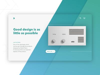 Dieter Rams - Principles of Good Design