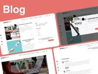 blog for company website