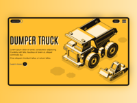 Industrial landing page concept