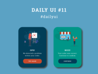 DailyUI 011 - Flash Message