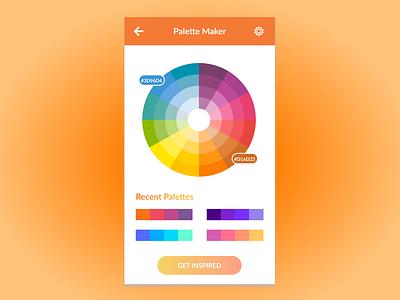 Daily UI 060 - Color Picker app ui vector art design dailyui figma