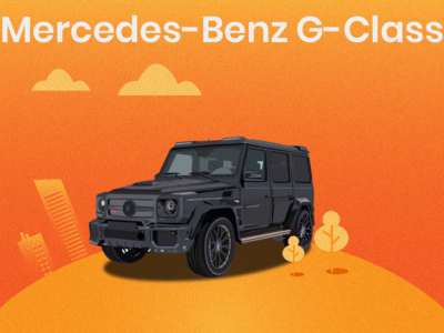 Benz G class illustration
