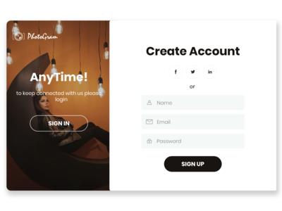photogram website design