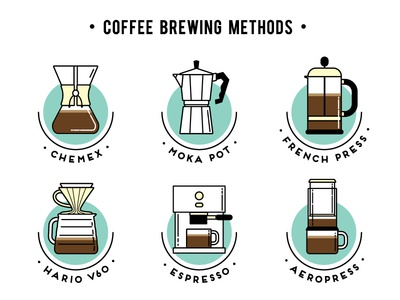 Coffee brewing methods – big scale