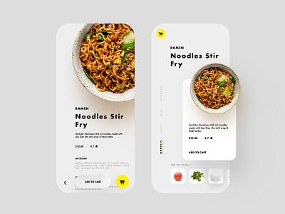 NodelesFood food and drink nodeles food ui