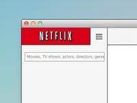Netflix Mac App Design