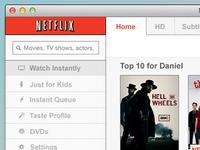 Netflix Mac App Design #3