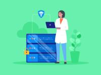 HIPAA-compliant web hosting