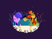 Magical pianist