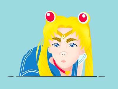 Sailormoon redraw challenge redrawchallenge procreate sailormoon