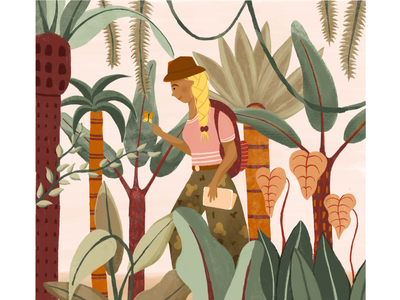 boho jungle procreate adventurer jungle boho