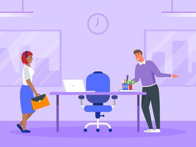 New employee onboarding new employee guides banner design jotform flat illustration illustrator adobe