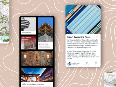 Architecture Reading App app design figma branding business figmadesign asia sketch app illustration ux ecommence typography design ui userinterfacedesign architecture
