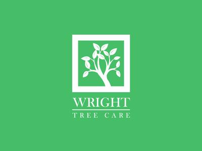 Wright Tree Care logo designer mirigfx graphic design branding logo design logo