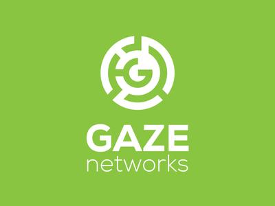 Gaze Networks logo designer mirigfx graphic design branding logo design logo