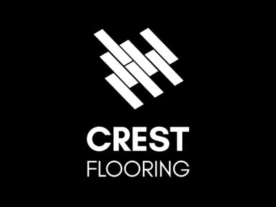 Crest Flooring logo designer mirigfx graphic design branding logo design logo
