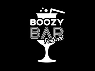 Boozy Bar Festival logo design logo designers graphic  design branding design mirigfx iammirigx branding agency logo designer festival logo branding