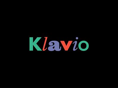 Klavio – Brand Identity fashion brand fashion logo typography clothing store fashion identity branding logo