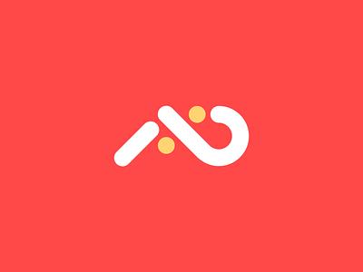 a-b logo concept trendy minimalistic logo company logo logotype brand branding identity design logo