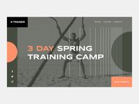 Fitness Training Website