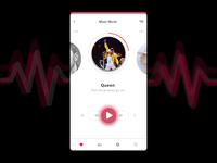 #Daily UI 009 - Music Player