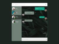 #Daily UI 013 - Direct Messaging