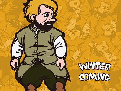 "Tyrion ""Imp"" cartoon people design illustration"