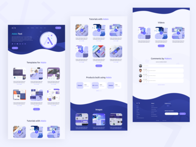 Nocode HQ Tools Page free tool web design template template builder template tutorials web design tool web builder web design tools tools page landing page design visual design graphic  design product design user interaction branding design ui ux design user interface design user experience design dribbble best shot