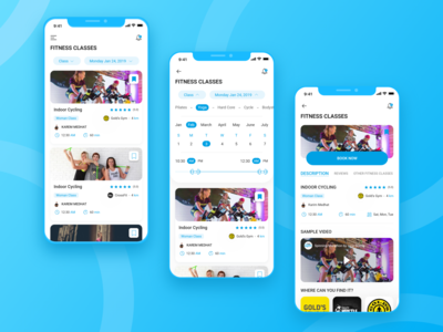 Cairo Gyms App nearby gym search workout tracker gym app gym classes workout booking calendar ui classes fitness app fitness fitness classes mobile app design visual design user interaction product design ui ux design user interface design user experience design dribbble best shot