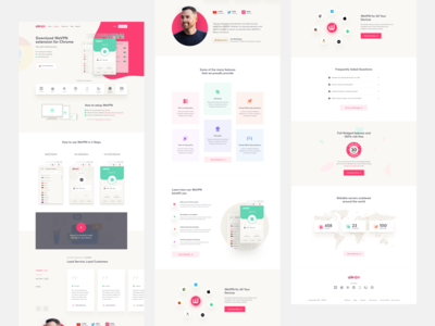 WeVpn For Chrome Extension web app browser extension trendy secure vpn service chrome extension chrome extension vpn app vpn web design illustration visual design graphic  design product design user interaction ui ux design user experience design user interface design dribbble best shot