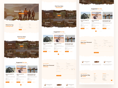 New African Frontiers Landing Page booking app booking website travelling landing page travelling website traveling travel agency travel app tourism landing page ui landing page trendy landing page design graphic  design visual design product design user interaction ui ux design user experience design user interface design dribbble best shot