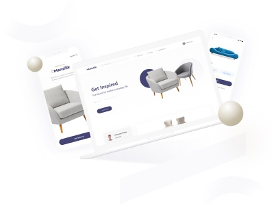 Manzilik Home Furtniture (web & Mob) 3d product page cart home page search mobile design web design dribbble best shot home decore shopping store home furniture furniture illustration visual design product design user interaction ui ux design user experience design user interface design