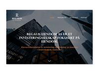 REGALIS Landing Page