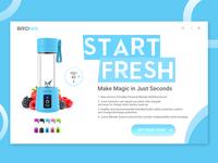 Bronix | Portable Mini Travel Fruit USB Juicer Cup