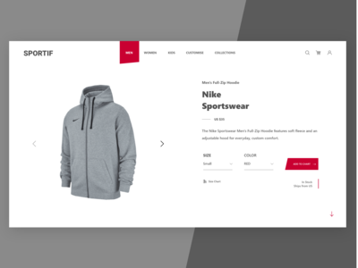 SPORTIF | Buy anything by 1ne click