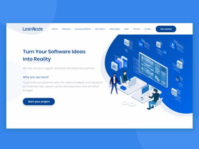 Lean Node Website