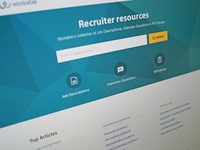 Workable Resources Landing Page