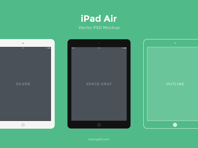 Flat Devices psd freebie flat vector mobile iphone tablet ipad air laptop macbook