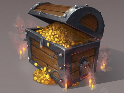 Treasure Chest thief sea hunt gold pirate chest treasure