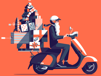 Happy Christmas. A recent commission for Landor's client Dialog